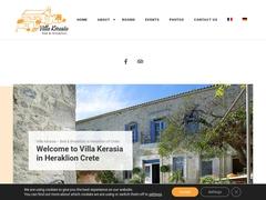 Villa Kerasia - 3 * Hotel - Vlachiana - Paliani - Heraklion - Crete