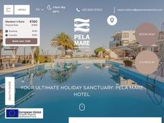 Ξενοδοχείο Pela Mare - Αγία Πελαγία - Ηράκλειο - Κρήτη