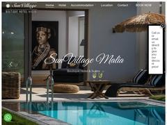 Sun Village Boutique Hotel 2 Κλειδιά - Μάλια - Ηράκλειο - Κρήτη