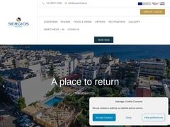 Sergios - Ξενοδοχείο 3 * - Λιμένας Χερσονήσου - Ηράκλειο - Κρήτη