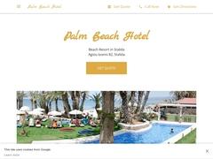 Palm Beach - 3 * Hotel - Stalida - Heraklion - Crete
