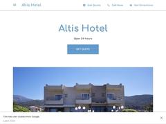 Altis - 2 * Ξενοδοχείο - Μάλια - Ηράκλειο - Κρήτη