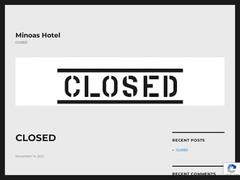 Minoas - Ξενοδοχείο 2 * - Σκαφιδάρας - Αμμουδάρα - Γκάζι