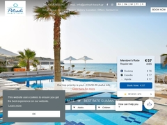 Petradi Beach Apartments - Hôtel 2 * - Panorama - Rethymnon - Crète