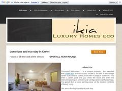 Ikia Homes - Hôtel 2 Clés - Nikiforos Fokas - Rethymnon - Crète