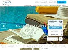 Minos - 4 * Hotel - Rethymnon Beach - Crete