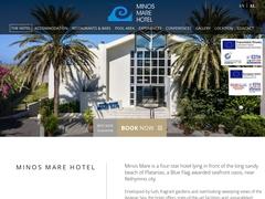 Minos Mare - Hôtel 4 * - Platanias - Rethymnon - Crète