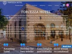 Fortezza - Ξενοδοχείο 3 * - Παλιά Πόλη - Ρέθυμνο - Κρήτη