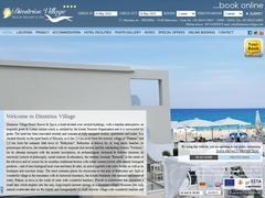 Παραλία Δημήτριος - Hotel 3 * - Περιβόλια - Μισίρια - Ρέθυμνο - Κρήτη