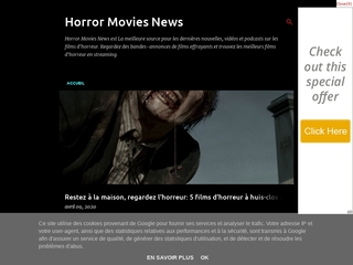 horror Movies News