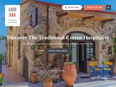 Idili Guesthouse - Hotel 3 *, Πάνορμος - Γεροπόταμος - Ρέθυμνο - Κρήτη