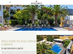 Xidas Garden - Hôtel 2 * - Bali - Mylopotamos - Rethymnon - Crète