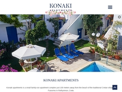 Konaki Studios - Hôtel 2 * - Panormos - Rethymnon - Crète
