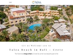 Talea Beach - Ξενοδοχείο 3 * - Πάνορμος - Ρέθυμνο - Κρήτη