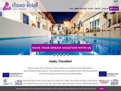 Iliana - Hôtel 2 * - Panormos - Rethymnon - Crète