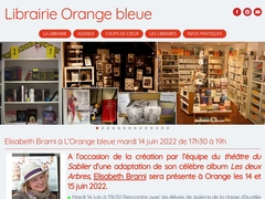 Librairie Orange bleue -Librairie Orange bleue
