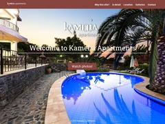 Kamelia Apartments - Hôtel 2 * - Melissourgaki - Rethymnon - Crète
