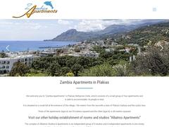 Zambia Apartments - Πλακιάς - Ρέθυμνο - Κρήτη