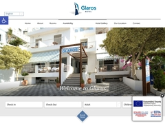 Glaros - Hôtel 2 * - Agia Galini - Rethymnon - Crète