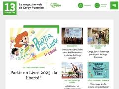 13 Comme Une - Le magazine web de Cergy-Pontoise