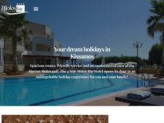 Molos Bay - Ξενοδοχείο 4 * - Κίσσαμος - Χανιά - Κρήτη
