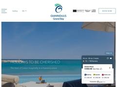 Grand Bay (Γιαννούλης) - Ξενοδοχείο 4 * - Κολυμπάρι - Χανιά - Κρήτη