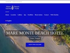 Παραλία Mare Monte - Ξενοδοχείο 4 * - Γεωργιούπολη - Χανιά - Κρήτη