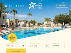 Sirios Village - Ξενοδοχείο 4 * - Κάτω Δαράτσος - Χανιά - Κρήτη