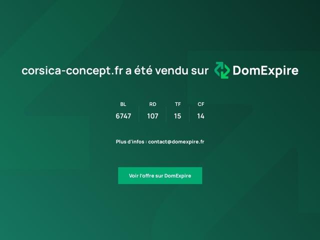 Corsica Concept