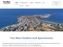 Ton Mari Studios - 1 * Hotel - Paleochora - Chania - Crete