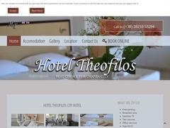 Theofilos - 1 * Hotel - Chania Town Center - Crete