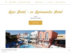 Epimenidis - 1 * Hotel - Agia Marina - Platanias - Chania - Crete