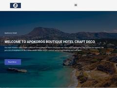 Apokoros Club Apartments - Hôtel 1 * - Kalyves - La Canée - Crète