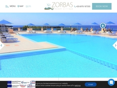 Zorbas Beach - Hôtel 1 * - Stavros - Akrotiri - La Canée - Crète