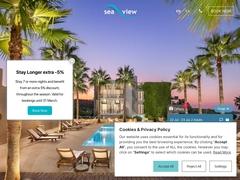 Θέα στη Θάλασσα - Ξενοδοχείο 2 * - Παραλία Άρτερα - Χανιά - Κρήτη