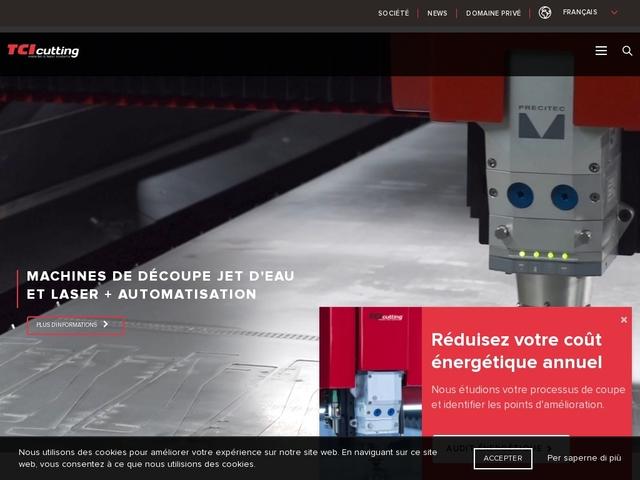 T.C.I-Cutting - (ES-46610) - Fabricant Machine Laser