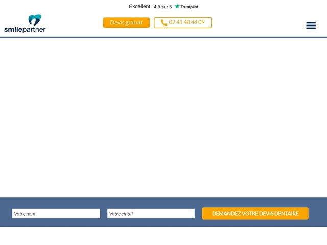 Smile partner pour vos soins dentaires sur-mesure