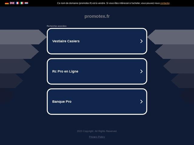 Accessoires publicitaires - PROMOTEX