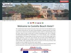Castella Beach Rooms 3 Clés - Paralia Alissos - Patras - Péloponnèse