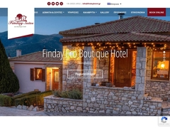 Finday Boutique - Hotel 2 * - Kalavryta - Achaia - Peloponnese