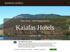 Hôtels Jenny & Kalogeropoulos - Hôtels 2 * - Kaïafas
