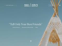 Nikki Beach - Ξενοδοχείο 5 * - Πόρτο Χέλι - Αργολίδα - Πελοπόννησος