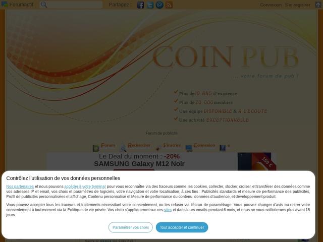Forum de pub - Coin-Pub
