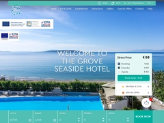 The Grove Seaside Hotel 2* - Δρέπανο - Ασίνη - Αργολίδα - Πελοπόννησος