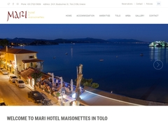 Mari Apartments 2 Keys - Tolo - Nafplion - Argolida - Peloponnese