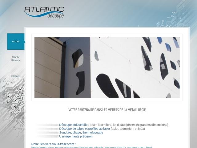 Atlantic-Decoupe Sarl - (64) - Sous-Traitance Découpe Industr