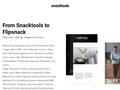 Diseño Gráfico - SnackTools