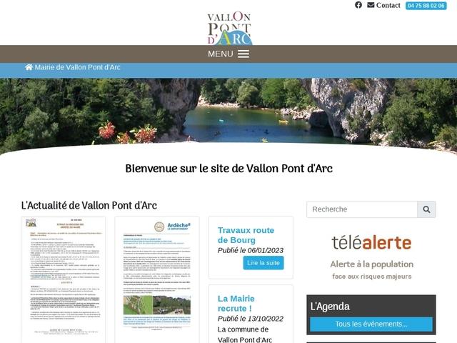 Mairie de Vallon Pont d' Arc