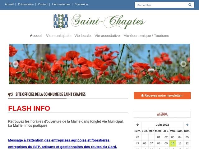 Mairie de Saint Chaptes Gard