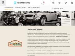 Mon Ancienne : Pieces pour automobiles et motos anciennes